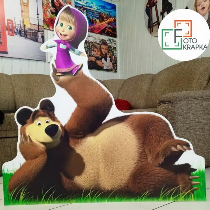Ростовая фигура Маша и Медведь грн