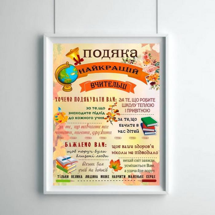 День учителя постер Херсон