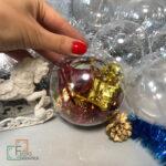 Заготовки для новогодних шаров с фото