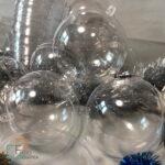 Новогодние шарики с фото Украина заготовки