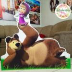 Ростові фігури Маша та ведмідь