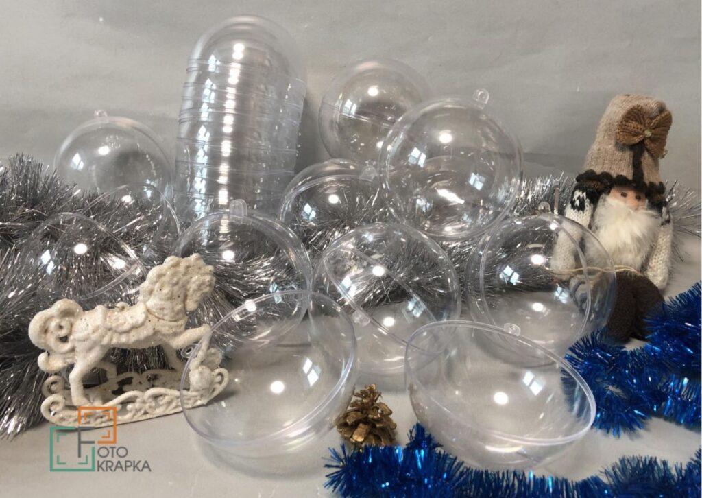 Заготовки шары новогодние с фото