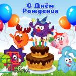 Смешарики фотозона Украина